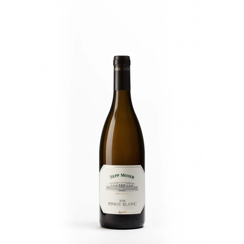 Blas ar Fwyd: Sepp Moser Pinot Blanc