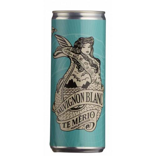 Blas ar Fwyd: Te Merio Sauvignon Blanc (25cl can)
