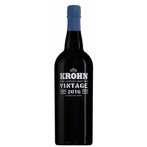Blas ar Fwyd: Krohn, 2016 Vintage Port