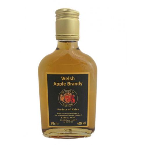 50103801 - Glyndwr Vineyard, Apple Brandy 40%, 20c
