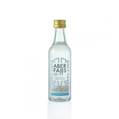 Blas ar Fwyd: Aber Falls Welsh Dry Gin 41.3% - 5cl