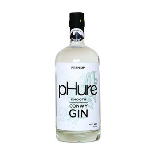 Blas ar Fwyd: pHure Conwy Gin  40%, 70cl