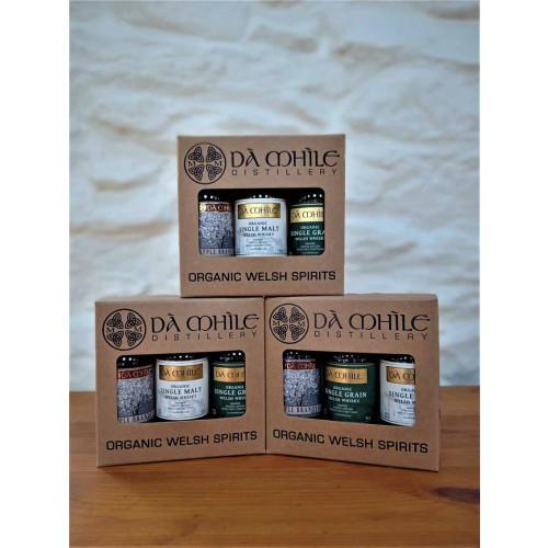 Blas ar Fwyd: Da Mhile, Barrel Aged Gift Box, 3 x