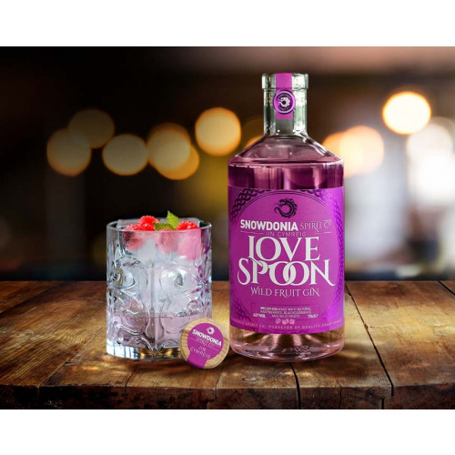 50205301 - Snowdonia Spirit Co. Love Spoon Gin, 40