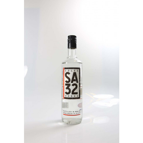 Blas ar Fwyd: Coles SA32 Vodka 70cl