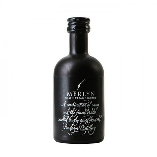 Blas ar Fwyd: Merlyn Welsh Cream Liqueur - 5cl