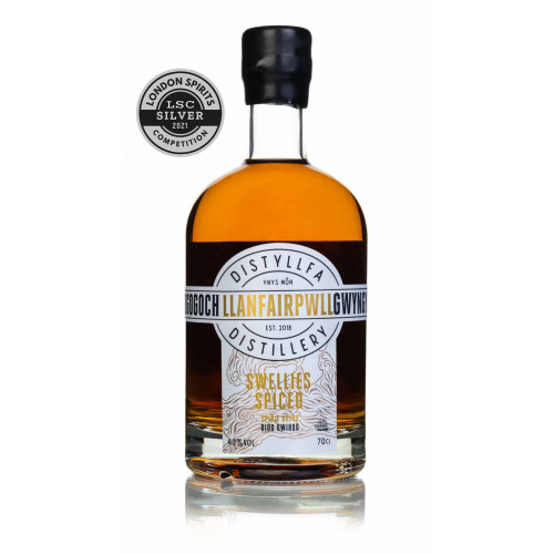 50805601 - Llanfairpwll Distillery, Swellies Spiced Rum, 40% 70cl