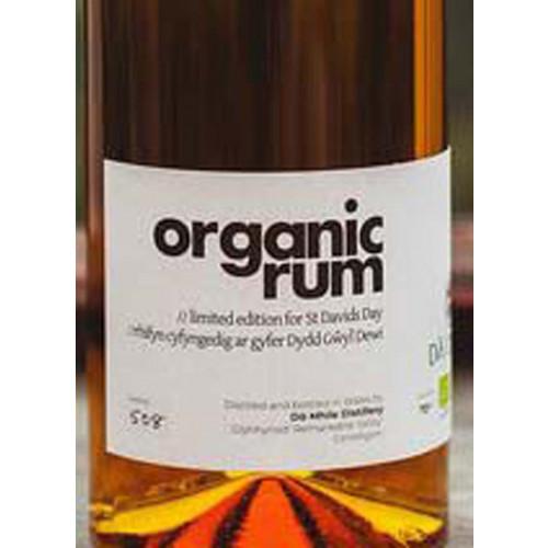 Blas ar Fwyd: Da Mhile, Organic Welsh Rum 40%, 5cl