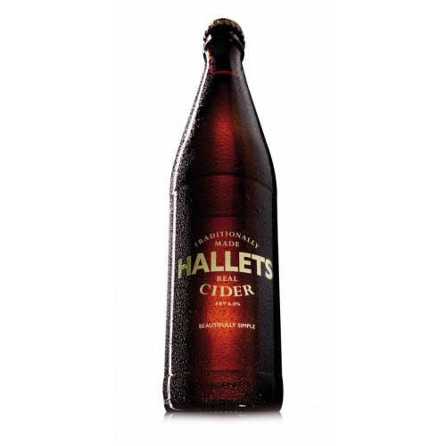 Blas ar Fwyd: Hallets Real Cider - 500ml