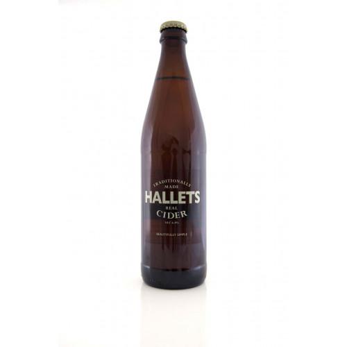 Blas ar Fwyd: Hallets, Real Cider, 500ml Bottle