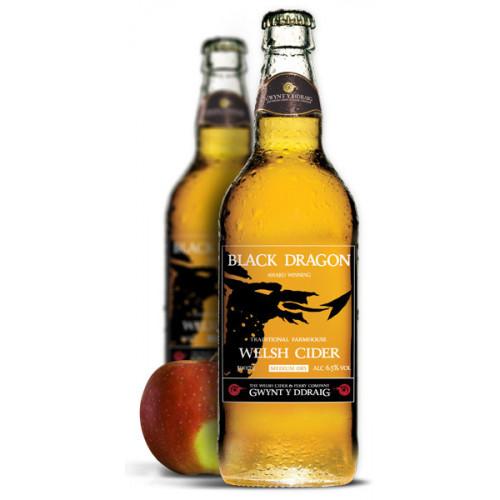 Blas ar Fwyd: Gwynt y Ddraig Black Dragon Cider -
