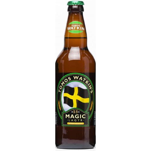 Blas ar Fwyd: Tomos Watkins Magic Lagyr - 500ml
