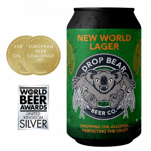 76119301 - Drop Bear, New World Lager 0%, 330ml.pn