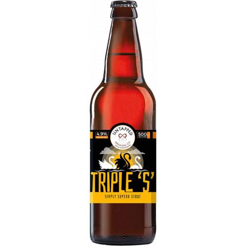 76120101 - Untapped Brewing Co, Triple S 4.9% 500m