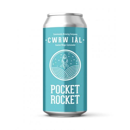 Blas ar Fwyd: Cwrw Ial, Pocket Rocket 4.0%, 440ml.