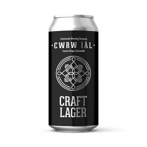 Blas ar Fwyd: Cwrw Ial, Craft Lager, 4.3%  440ml.j