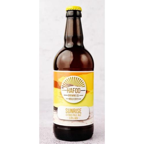 Blas ar Fwyd: Hafod Brewing, Sunrise Citrus Pale A