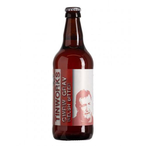 Blas ar Fwyd: Tinworks Brewery, Cwrw Grav 3.9%, 50