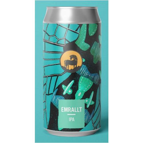 76125201 - Wild Horse, Emrallt IPA 6.0% 440ml CANS