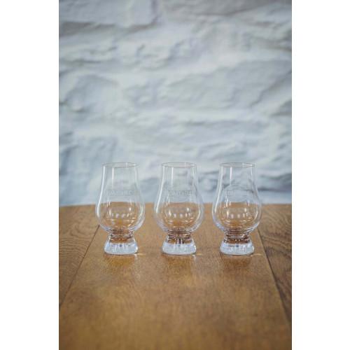 Blas ar Fwyd: 6 x Da Mhile, Branded Nosing Glass.j