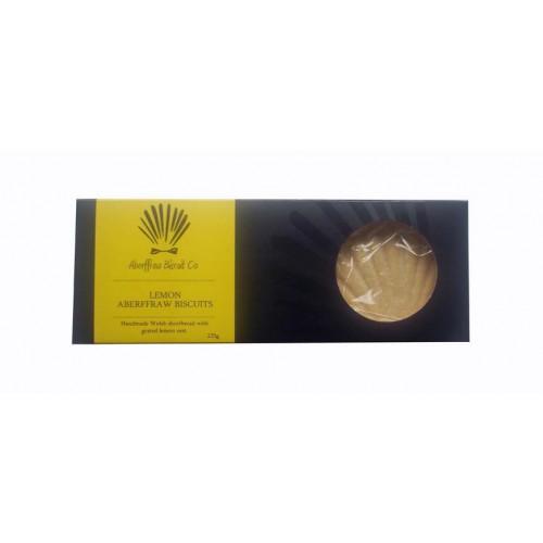 Blas ar Fwyd: Aberffraw Biscuit Lemon Flavour - 10