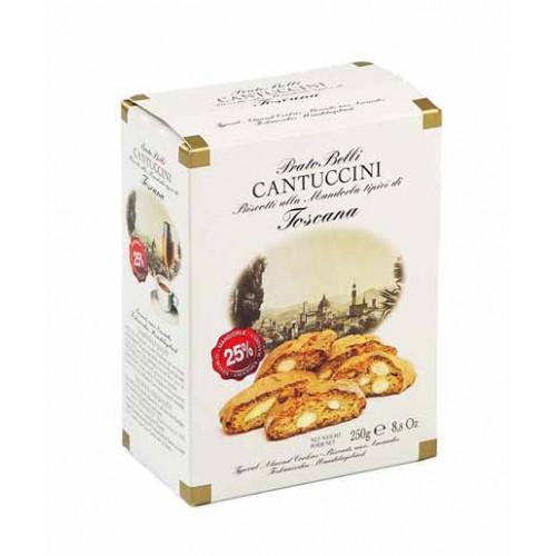 Blas ar Fwyd: Cantuccini Almond Extra, 250g Box.jp