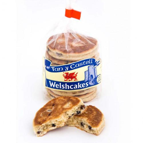Blas ar Fwyd: Tan y Castell Welshcakes - 6 Pack