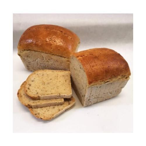 Blas ar Fwyd: WGF, Brown Seeded Sliced Bread, 500g