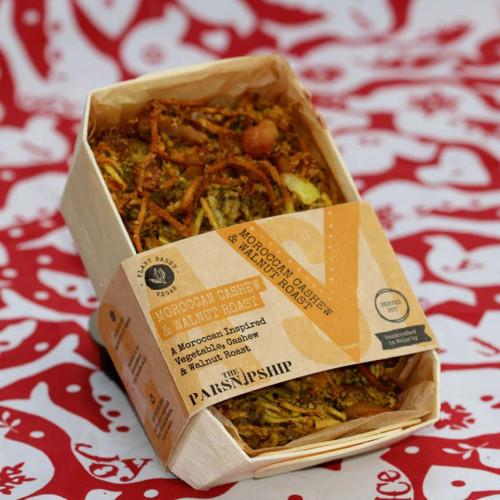 Blas ar Fwyd: Parsnipship Box of Moroccan Cashew &