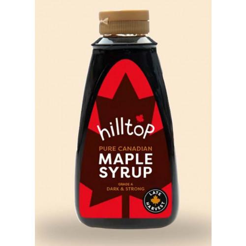 Blas ar Fwyd: Hilltop Honey, Very Dark Maple Syrup