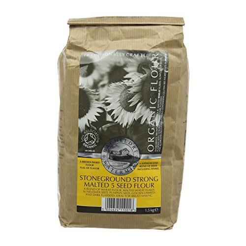 Blas ar Fwyd: Bacheldre Malted 5 Seed Flour - 1.5k