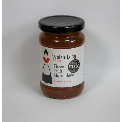 Blas ar Fwyd: Welsh Lady, Three Fruits Marmalade,