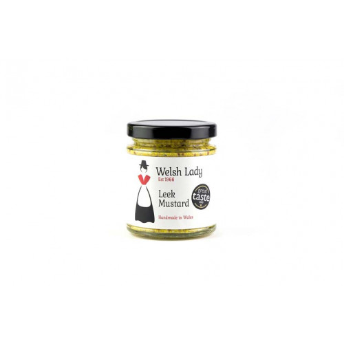 Blas ar Fwyd: Welsh Lady Mustard with Leeks - 170g