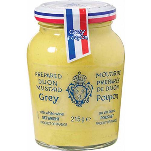 Blas ar Fwyd: Dijon Mustard, Grey Poupon, 215g.png