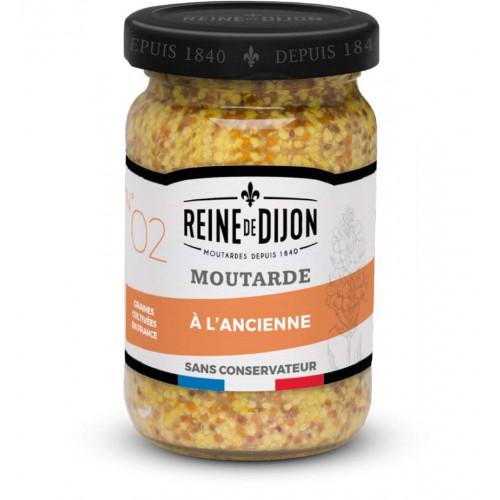 Blas ar Fwyd: Reine de Dijon, Mustard Whole Graine