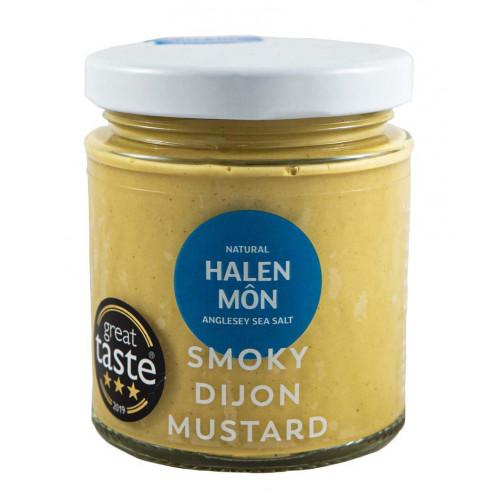 Blas ar Fwyd: Halen Mon Smoky Dijon Mustard 200g