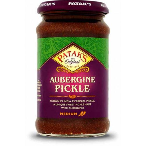 Blas ar Fwyd: Pataks, Pickles, Brinjal, 312g.png