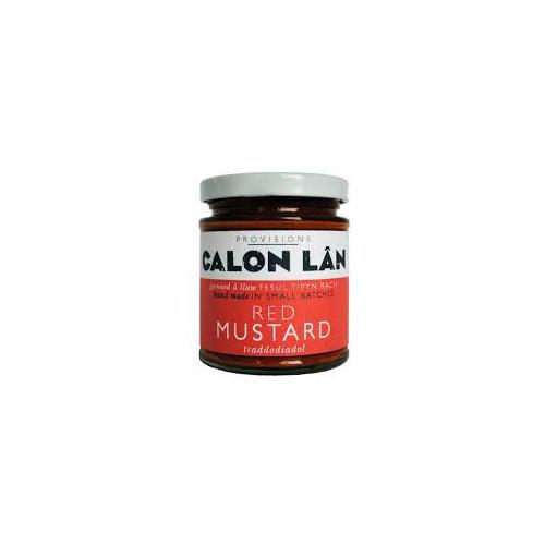 Blas ar Fwyd: Calon Lan Red Mustard - 170g