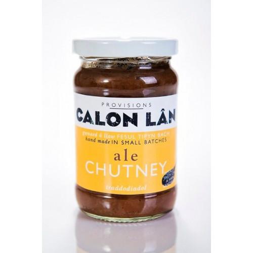 Blas ar Fwyd: Calon Lan Ale Chutney  - 285g