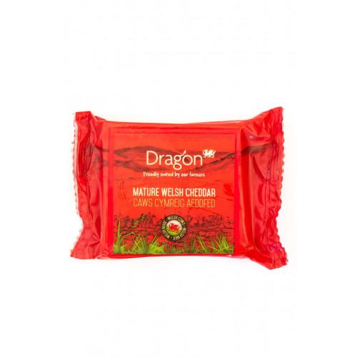 Blas ar Fwyd: Dragon, Mature Welsh White Cheddar,