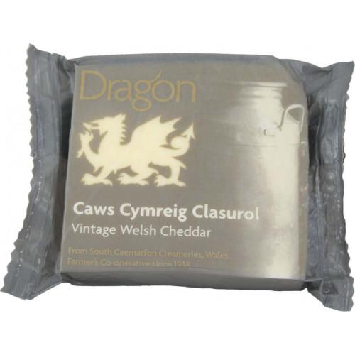 Blas ar Fwyd: Caws Llyn Dragon Vintage Welsh White