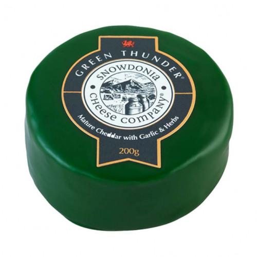 Blas ar Fwyd: Snowdonia Cheddar, Green Thunder (He