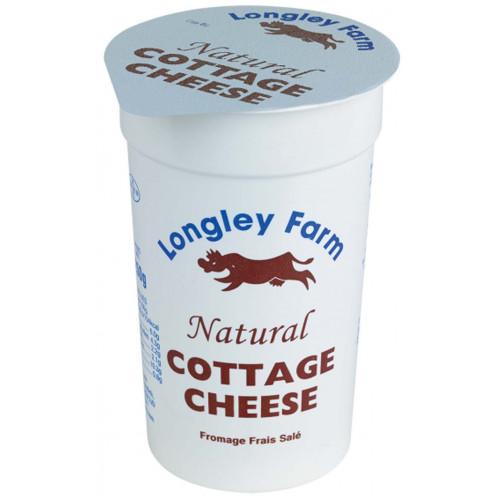 Blas ar Fwyd: Longley Farm Cottage Cheese - 125g