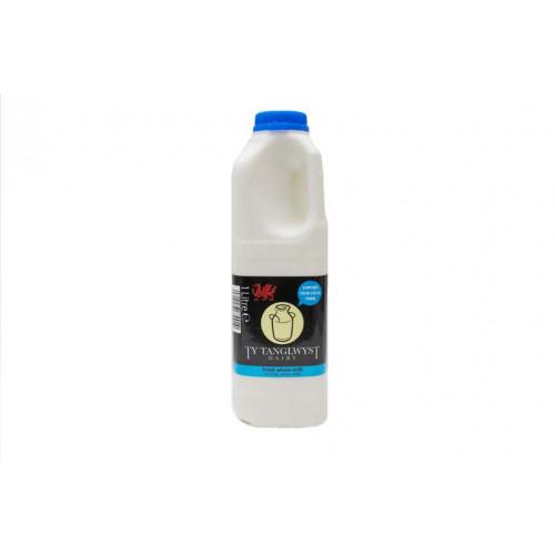 Blas ar Fwyd: Ty Tanglwyst Whole Milk, 1 Litre