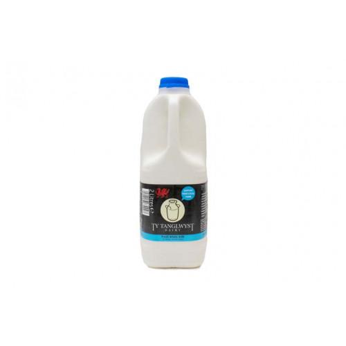 Blas ar Fwyd: Ty Tanglwyst Whole Milk, 2 Litre
