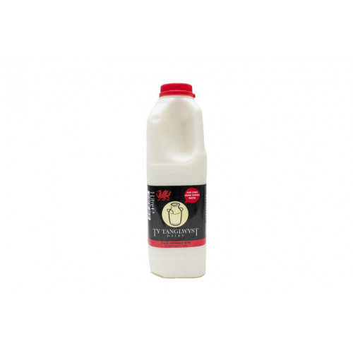 Blas ar Fwyd: Ty Tanglwyst Skimmed Milk, 1 Litre