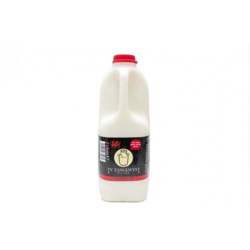 Blas ar Fwyd: Ty Tanglwyst Skimmed Milk, 2 Litre