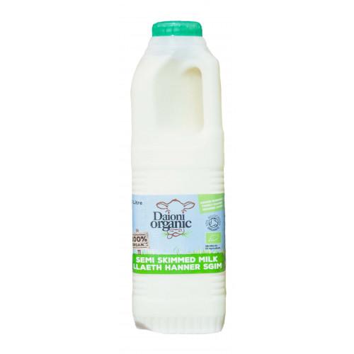 Blas ar Fwyd: Daioni UHT Semi Skimmed Milk 1Ltr