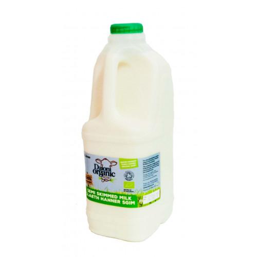 Blas ar Fwyd: Daioni Organic Semi Skimmed 2Ltr (N)