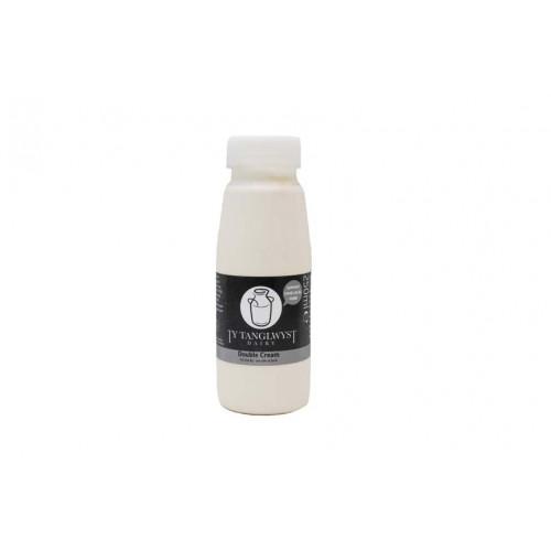 Blas ar Fwyd: Ty Tanglwyst Dairy, Double Cream, 25